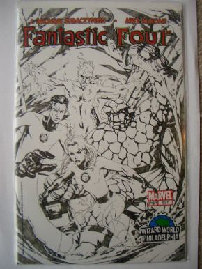 Fantastic Four #527 Wizard World Philadelphia Sketch Variant
